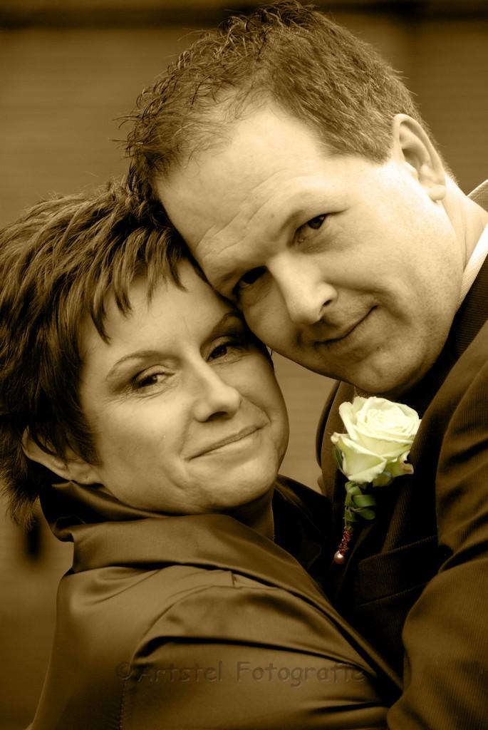 Bruiloft van Nathalie en Dirk (van Hondenuitlaatservice Barney) te IJsselstein.