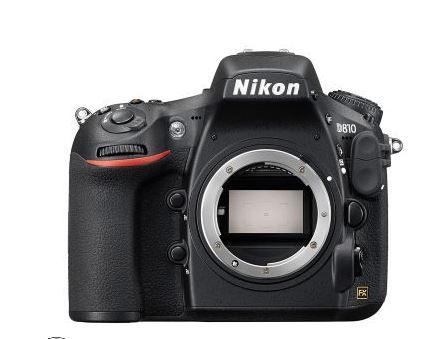 Nikon D810, mijn backup camera.