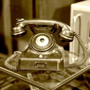 Een ouderwetse telefoon. Foto gemaakt door fotograaf Arthur Krijgsman van Artstel Fotografie.